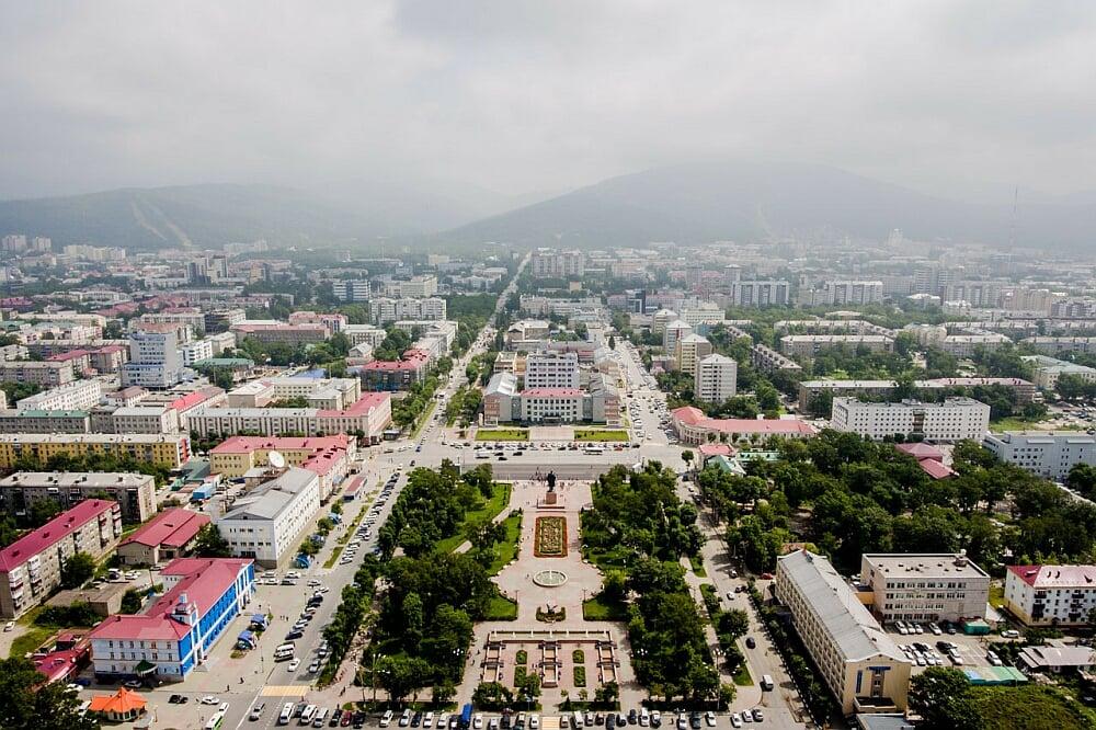 the Sakhalin region