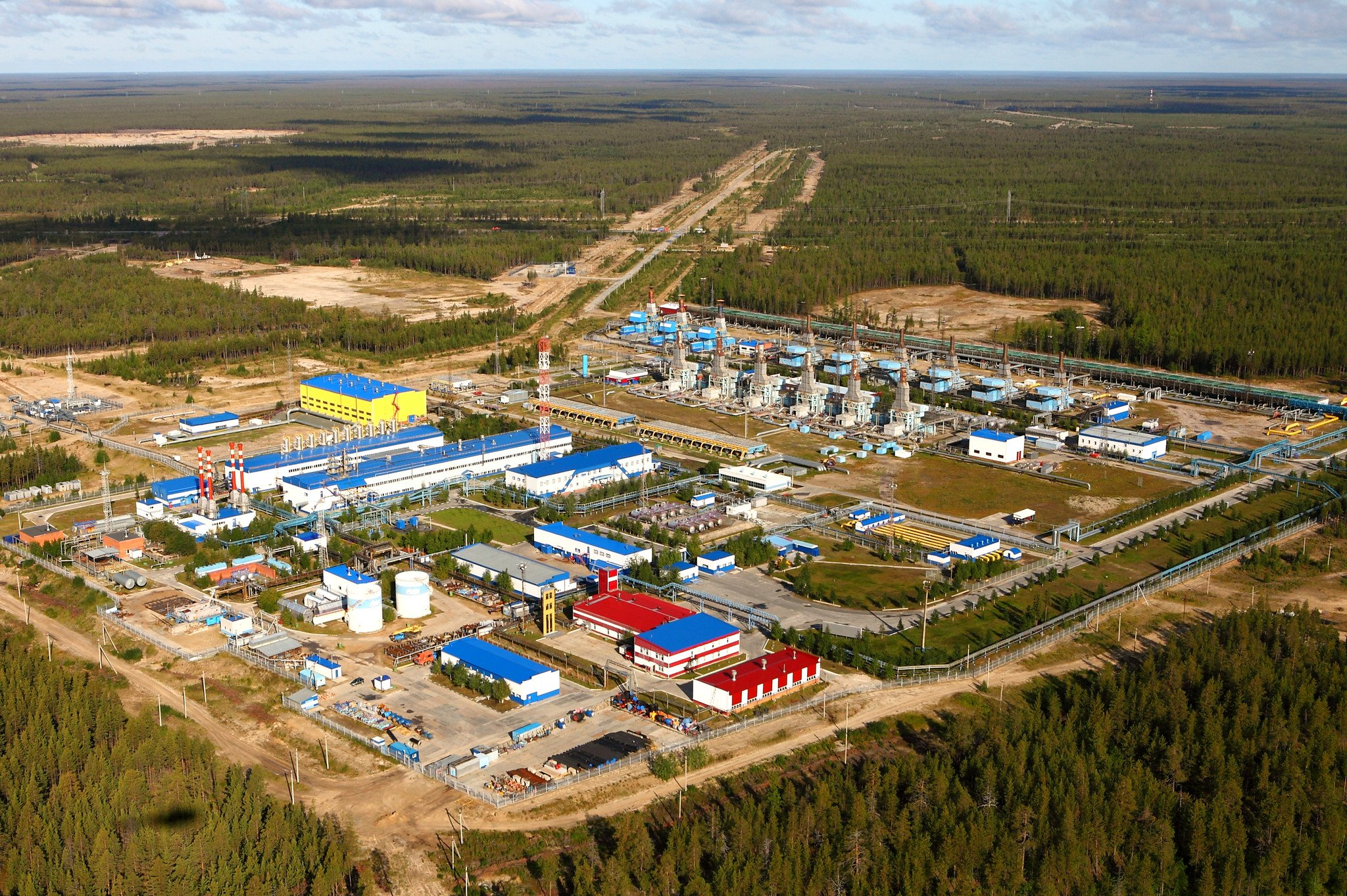 Gazprom will spend 500 million rubles for the reconstruction of fire safety systems of the Komsomolsk gas field